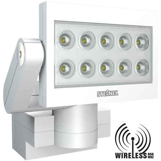 xled fe 10 projecteur led r cepteur sans fil 868mhz blanc. Black Bedroom Furniture Sets. Home Design Ideas