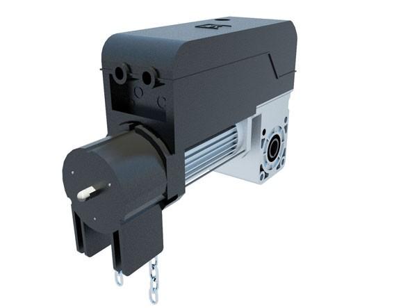 Motorisation pour porte sectionnelle jusqu 39 25m bft pegaso c 230v accessoires porte de - Accessoire porte sectionnelle ...