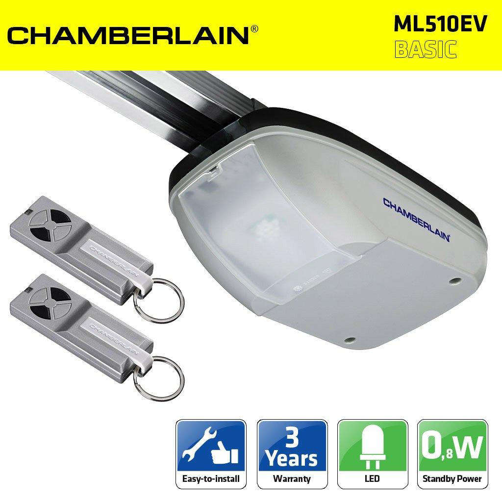 Chamberlain ml510ev 500n kit motorisation porte de garage - Motorisation porte de garage chamberlain ...