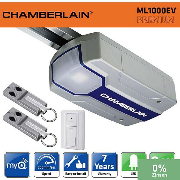 Chamberlain ml1000ev 1000n kit motorisation porte de - Motorisation porte de garage chamberlain ...