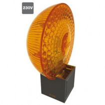 Lampe clignotante orange MOON Light 230 Vca NICE ML