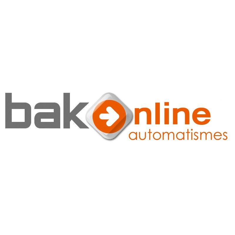 Motorisation AVIDSEN Portail Coulissant - 12V (4m x 200 kg) - Feu LED - 2 télécommandes - 4 Mètres crémaillères Nylon - Photocellules - ZENIA