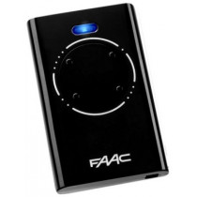 Télécommande FAAC XT4 868Mhz SLH BLACK