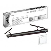 Kit Motorisation volets battants FAAC Night One Day AUTO Marron (filaire)