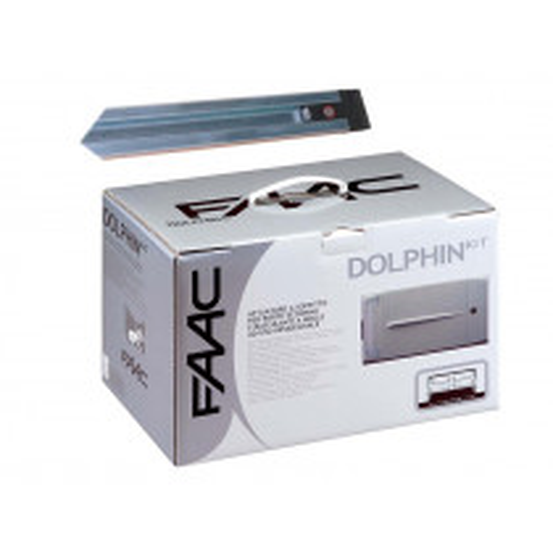 Motorisation porte de garage Kit FAAC Dolphin D1000 24V + Rail 2,60 m
