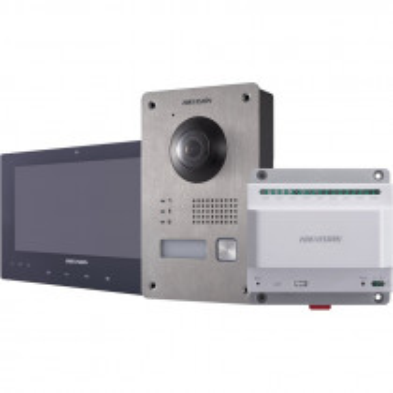 Kit Portier Vidéo IP HIKVISION DS-KIS701