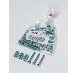 Faac 722095 - Attaches Cremaillères 18 Pieces