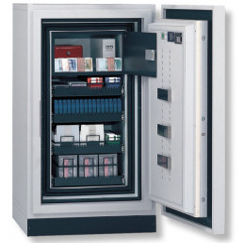 Coffre-fort pour sauvegarde de données Safe-DIS 446E -  Serrure électronique