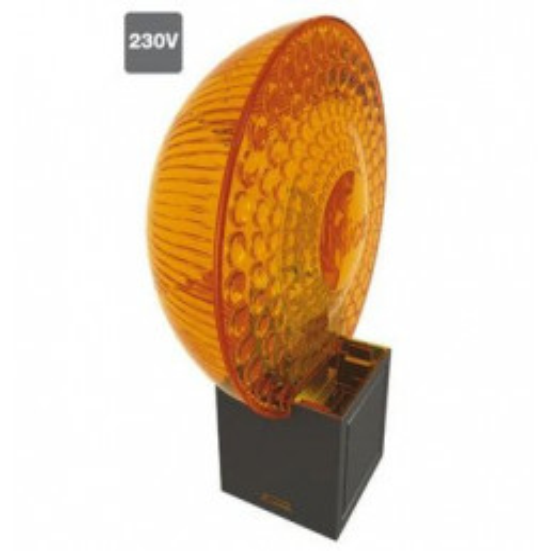 Lampe clignotante orange MOON Light 230 Vca NICE ML