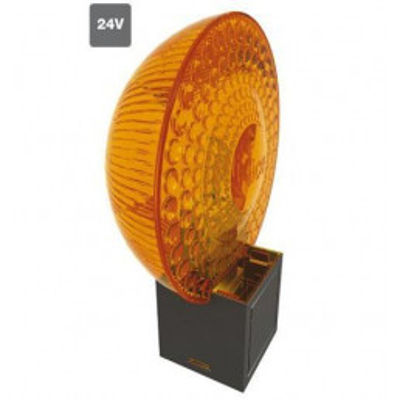 Lampe clignotante orange MOON Light 24 Vcc NICE ML24