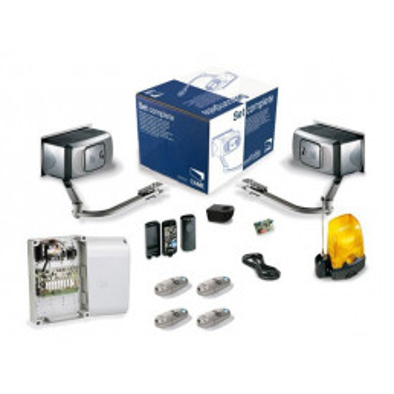 Motorisation Portail CAME U1256 FERNI - Kit + 2 télécommandes!