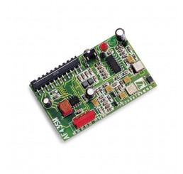 Carte Radio embrochable en 433,92Mhz avec Memoire EPROM (128 Codes) ( CAME AF43SM )
