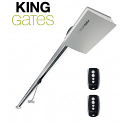 Motorisation Design pour porte de garage King Gates BOOK + rail