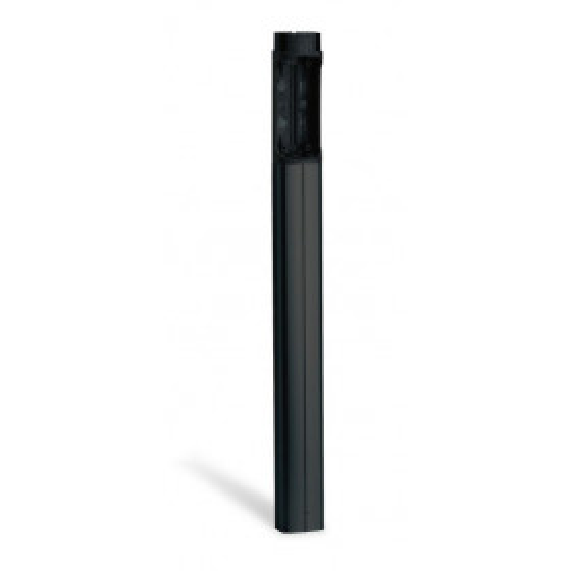 Rallonge en Aluminium anodisé Noir pour Double Photocellule DIR L H de 0,5M ( CAME DIR-PN )