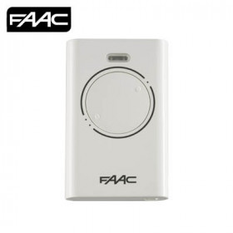 Faac XT2 868SLH Télécommande 2 canaux Blanche