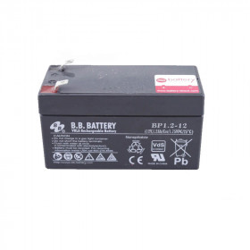 Pack 2 x BATTERIES DE SECOURS 12V 1,2Ah