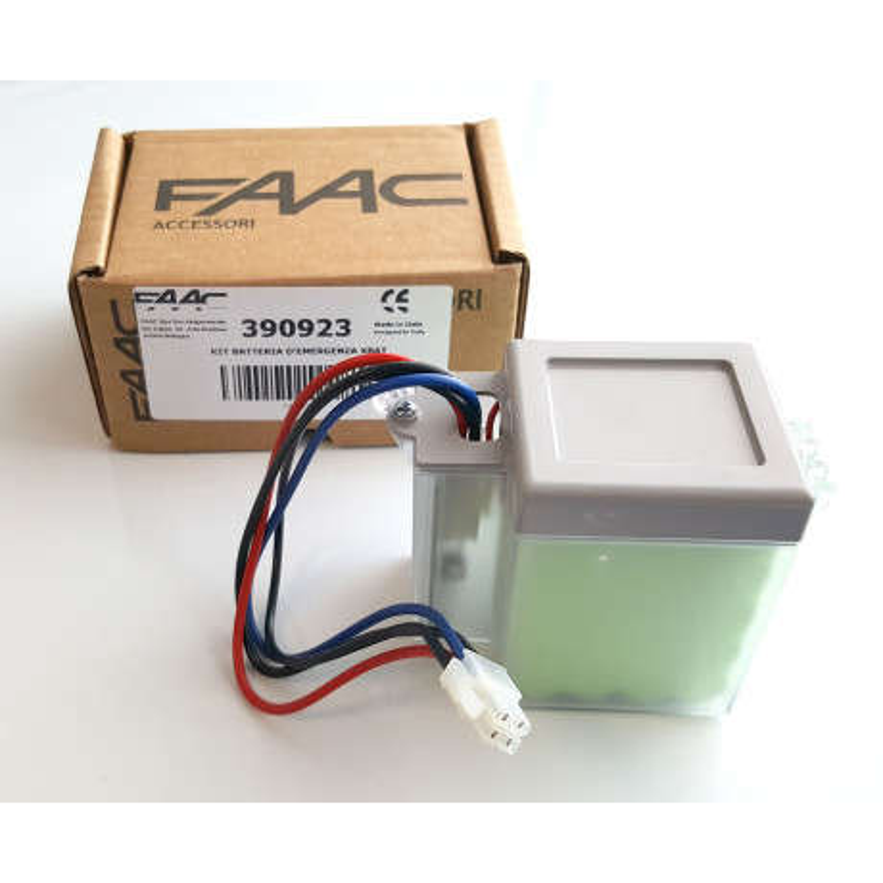 batterie de secours faac xbat24 faac 390923 accessoires motorisation motorisation portail. Black Bedroom Furniture Sets. Home Design Ideas